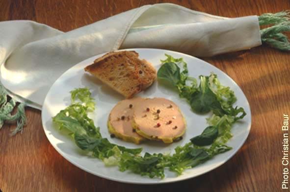 decoration foie gras entree